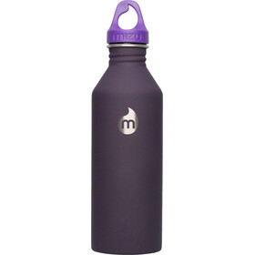 MIZU M8 Bottle with Purple Loop Cap 800ml purple